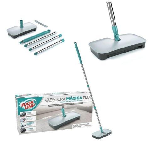 Imagem de Vassoura Mágica Plus Sujeira Limpeza Flash Limp