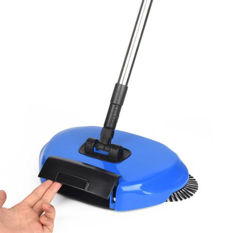 Imagem de Vassoura Mágica Sweeper Mazzilli Perfect Dobrável 3x1 Azul