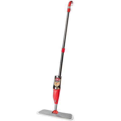 Imagem de Vassoura Mop com Spray e Reservatório para Limpeza Rodo Mágico Limpa Fácil 1 Refil Wap