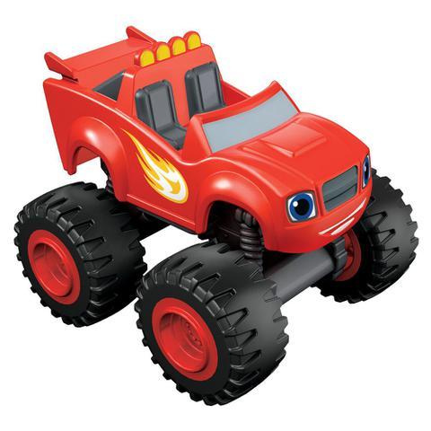 Imagem de Veículo Básico - Blaze and The Monsters Machine - Vermelho - Fisher-Price