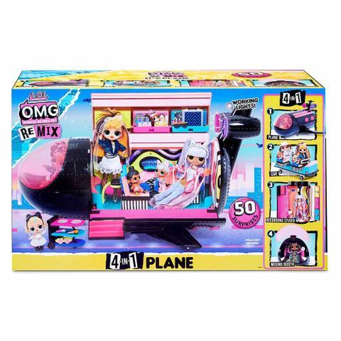 Imagem de Veículo e Avião 4 em 1 - LOL Surprise OMG Remix - 50 Surpresas - Candide