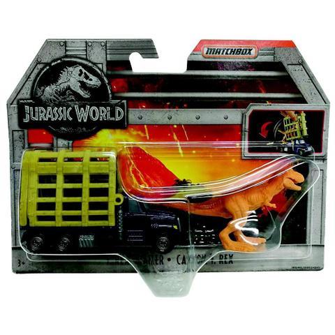 New Jurassic World T.Rex Trailer Matchbox Vehicles Sets T-Rex Official