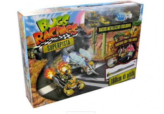 Imagem de Veículo e Pista de Percurso Bugs Racing 5062 - DTC