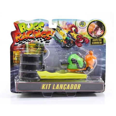 Imagem de Veículo e Pista de Percurso - Bugs Racing - Lançador - Sluggy - DTC