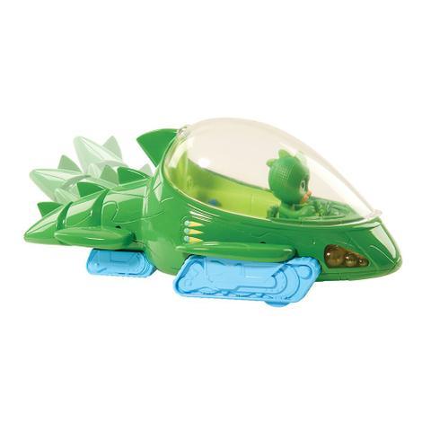 Imagem de Veículo PJ Masks com Luz e Som Lagartixomóvel - DTC