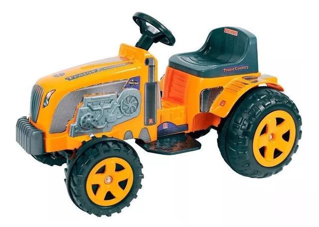 Imagem de Veículo Trator Elétrico Menino Country Criança 6v Biemme