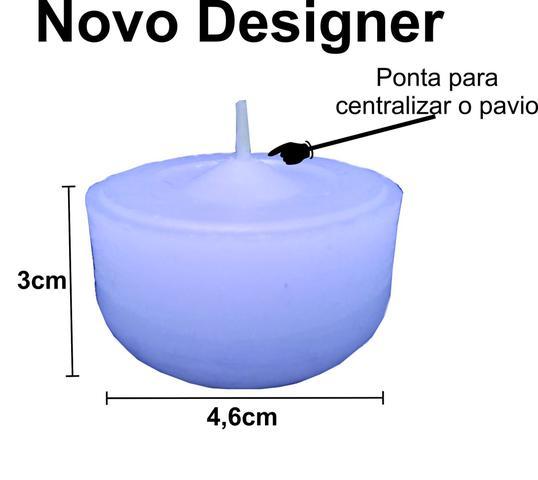 Imagem de Velas decorativas flutuantes - 20 unidades P/ Taças e vidros