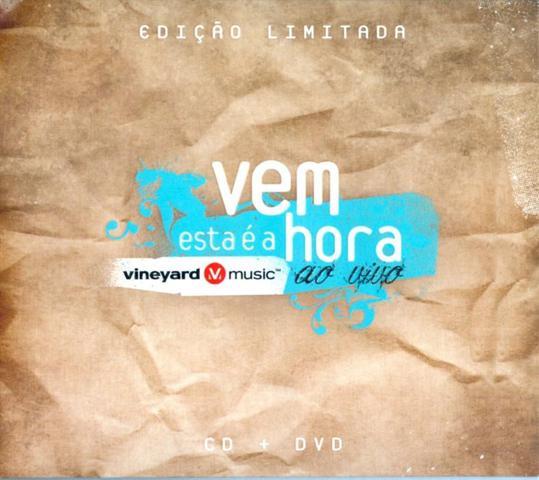 Imagem de Vem, Esta É A Hora - ao Vivo - Edição Limitada - CD + DVD