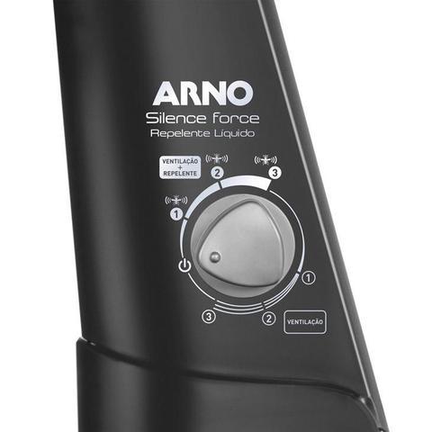 Imagem de Ventilador de Coluna Arno, com Função Repelente 40 cm, Preto - VF5C