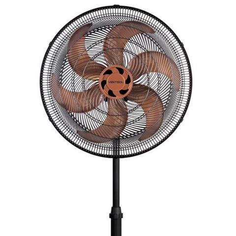 Imagem de Ventilador de Coluna Ventisol 40cm 6 Pás Turbo 6 com 80W Grade Wind-line Preto/Bronze