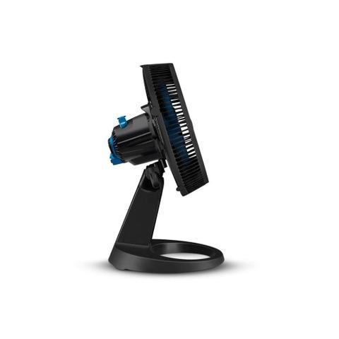 Imagem de Ventilador de Mesa 110v Super Force Repelente 30cm Preto E Azul