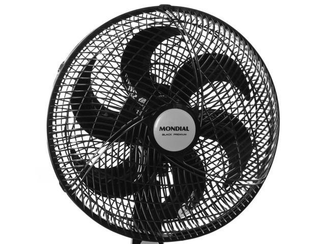 Imagem de Ventilador de Mesa 30cm 50W Mondial Premium com 6 Pás e 3 Velocidades Preto