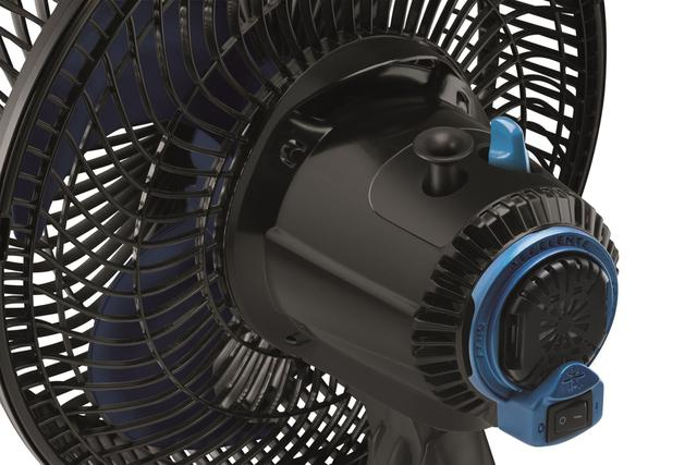Imagem de Ventilador de Mesa 30cm Arno Super Force Repelente VER3 52W 3 Velocidades 4 Pás Preto 127V
