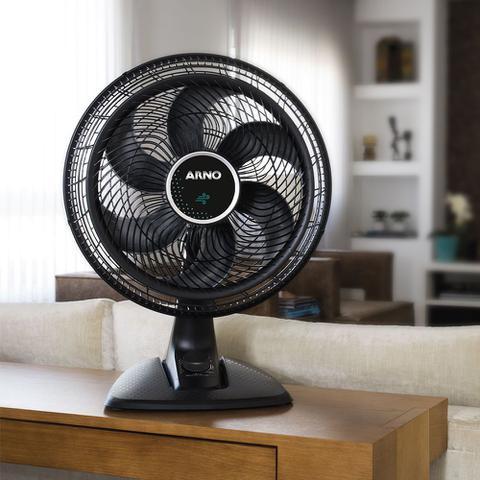 Imagem de Ventilador de Mesa 40cm Ultra Silence Arno VD40 Preto 127V