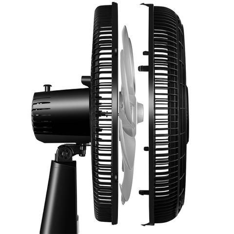 Imagem de Ventilador de Mesa 50 Cm 127v 140w com 8 Pás Preto Turbo Mondial Vtx-50-8p