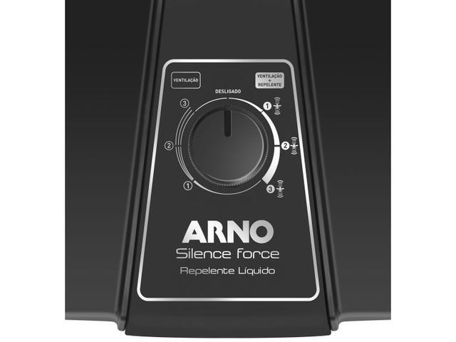 Imagem de Ventilador de Mesa Arno Silence Force Repelente - VF55 40cm 3 Velocidades 127V