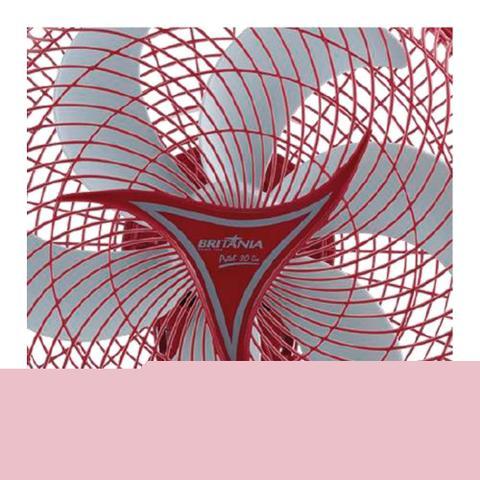 Imagem de Ventilador de Mesa Britânia 30cm Protect Six Vermelho
