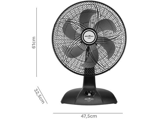 Imagem de Ventilador de Mesa Britânia BVT4000 40cm