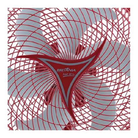 Imagem de Ventilador de Mesa Britânia Protect Six, 30cm, 6 Pás, 3 Vel, Vermelho - 110V