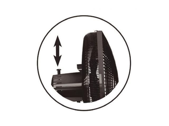 Imagem de Ventilador de Mesa Mondial 30CM Premium NV326P Preto 110V