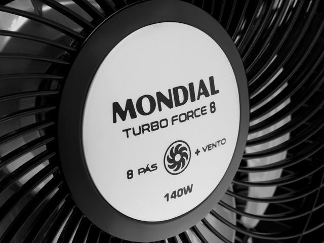 Imagem de Ventilador de Mesa Mondial Turbo Force 8