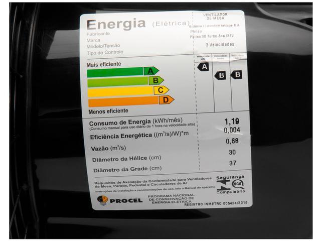 Imagem de Ventilador de Mesa Philco 30 Turbo Zes 30cm
