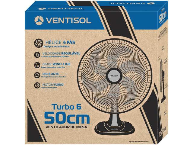 Imagem de Ventilador de Mesa Ventisol Turbo Premium