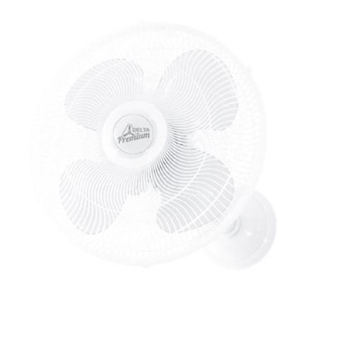 Imagem de Ventilador de parede 50cm premium 170 watts grade plástica branco venti-delta