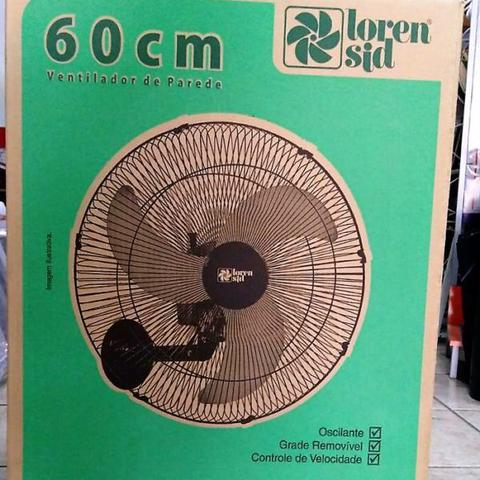 Imagem de Ventilador De Parede 60cm tufão Oscilante Loren Sid - 2 unid.