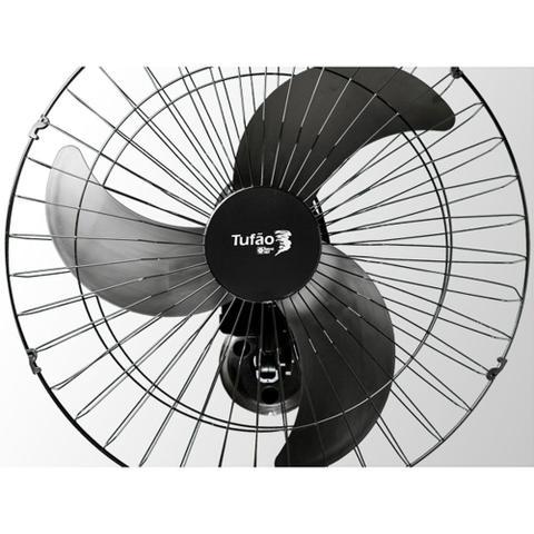 Imagem de Ventilador de Parede Tufão 60cm M1 Bivolt Preto - Loren Sid