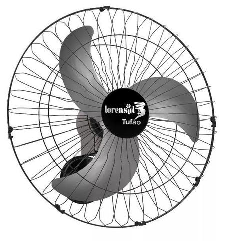 Imagem de Ventilador De Parede Tufão 60cm Max Preto Bivolt M2 Loren Sid