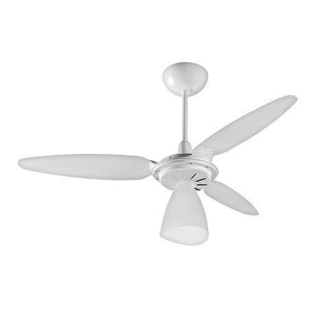 Imagem de Ventilador de Teto 3 Pás com Luminária Wind Light Ventisol 127V Branco