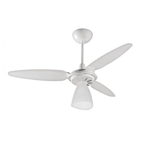 Imagem de Ventilador de Teto 3 Pás com Luminária Wind Light Ventisol 220V Branco
