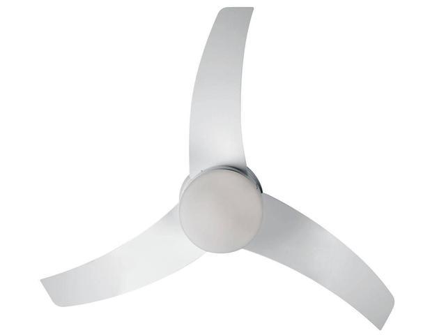 Imagem de Ventilador de Teto Controle Remoto Arno 127V Ultimate 3 Pás 6 Velocidades Branco para 2 Lâmpadas