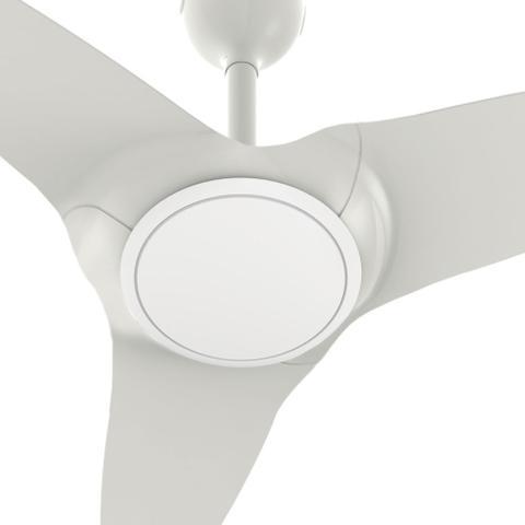 Imagem de Ventilador De Teto Flow Branco Com Led E Controle Remoto Super Silencioso