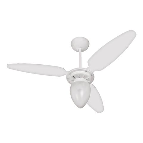 Imagem de Ventilador de Teto Ventisol Wind 3 Pás Branco com Luminária 110v
