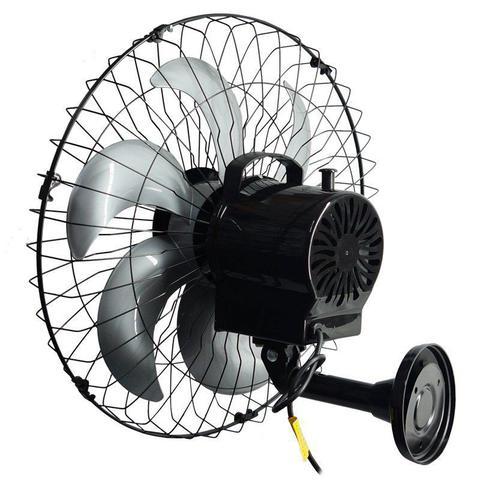 Imagem de Ventilador Parede 50cm 220V 200W Industrial Turbo Turbão 6 Pás Grade 40 Fios Vitalex OP50AP220 Preto