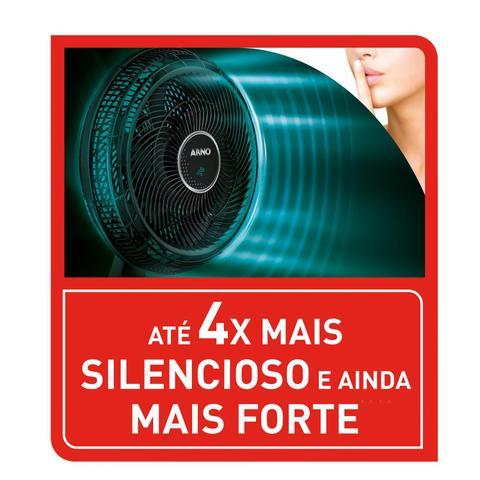 Imagem de Ventilador Parede Arno Ultra Silence Force Desmontável 40 Cm Vd4P
