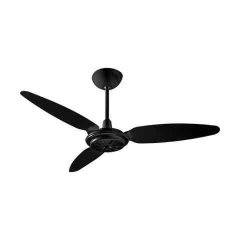 Imagem de Ventilador teto comercial ventisol 3 pas preto 220v