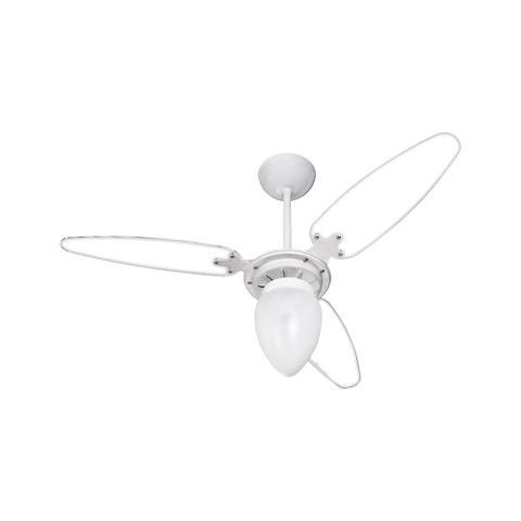 Imagem de Ventilador teto wind ventisol branco pas transparente 127v