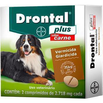Imagem de Vermifugo Drontal Caes 35kg - Bayer