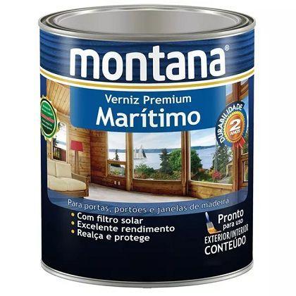 Imagem de Verniz Maritimo Natural Montana Premium Madeira 3,6 Litros