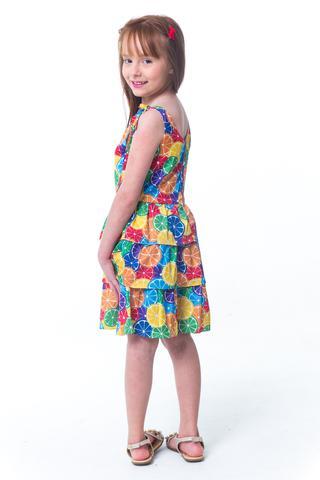 9b3642578 Vestido De Alça Infantil Summer - Tamanho 4 - Casa de bonecas ...