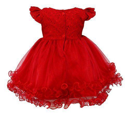 Imagem de Vestido Infantil Festa Tam: Pmg Com Renda Katitus