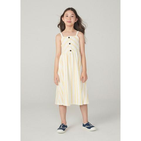 Imagem de Vestido Midi Infantil Em Malha Atoalhada