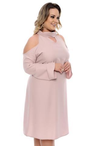 Imagem de Vestido Rosê Plus Size