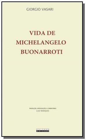 Imagem de Vida de michelangelo buonarroti: florentino. pinto
