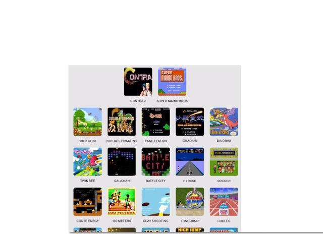 Imagem de Vídeo Game Mega Game 123 Jogos Em 246 versões  C/2 controles