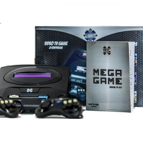 Imagem de Vídeo Game Retrô Mega Game com 123 Jogos em 246 versões 000001