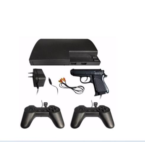 Imagem de Vídeo Game X Mega Game 123 Jogos Em 246 versões  C/2 controles